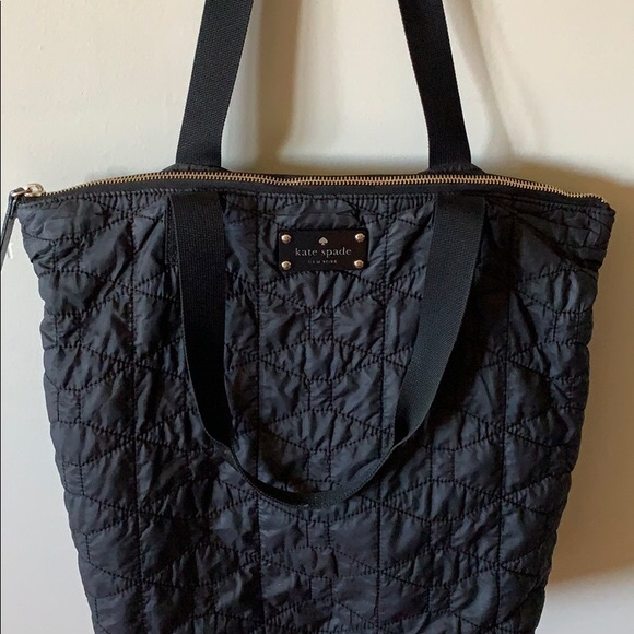 kate spade Handbags - Sale! ♠️Kate Spade Quilted nylon tote ♠️